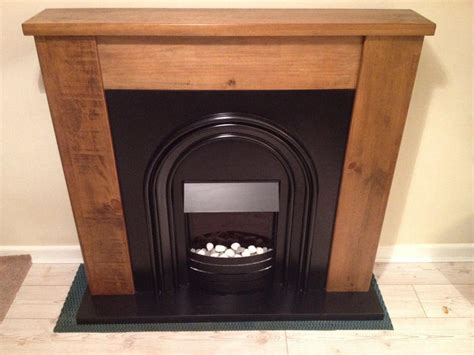 Next Fireplace by Next Solid Pine Hartford Fireplace Suite With Integrated
