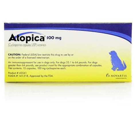 cyclosporine for dogs atopica skin allergies and itch relief for dogs petcarerx