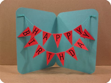how to make a birthday card with paper birthday card create easy how to make a birthday card
