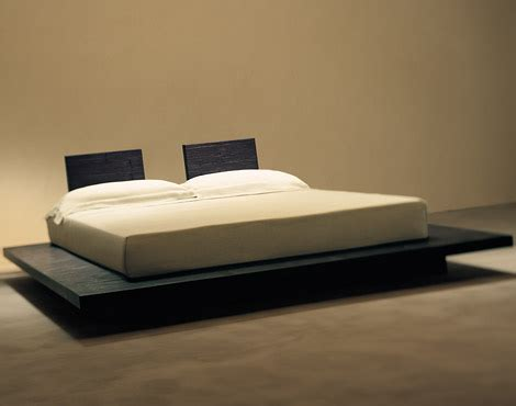 Platform Bed With Low Headboard by The Quot Otto Quot Low Modern Platform Bed From Gervasoni Spa