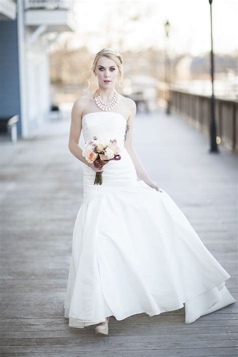 Would You Wear A Wedding Dress by Should You Wear A Necklace With A Strapless Wedding Dress