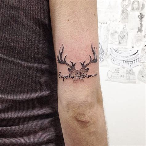 simple harry potter tattoos 52 harry potter tattoos that are so cool they re magical