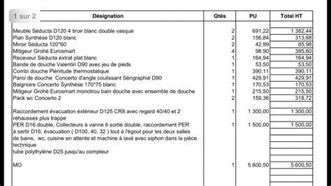 Travaux De Plomberie Prix 3985 by Avis Devis Artisan Chauffage Et Plomberie 36 Messages