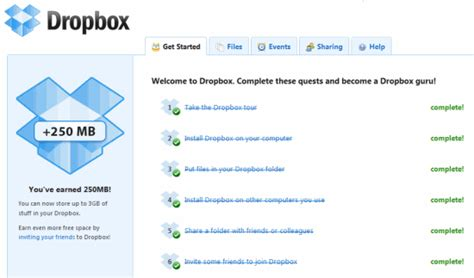 dropbox storage 3 ways to get free dropbox storage space make tech easier