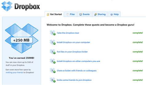 dropbox daily limit 3 ways to get free dropbox storage space make tech easier
