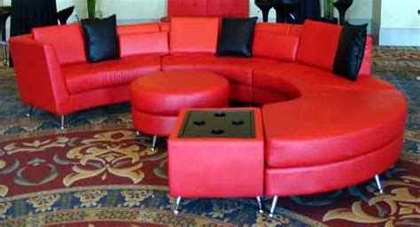 circular sofa with ottoman event services orlando