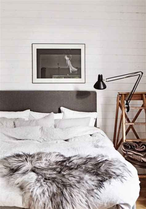 Fur Bedroom Decor Bedroom Decor Fur Cover White And Gray Pallet For The