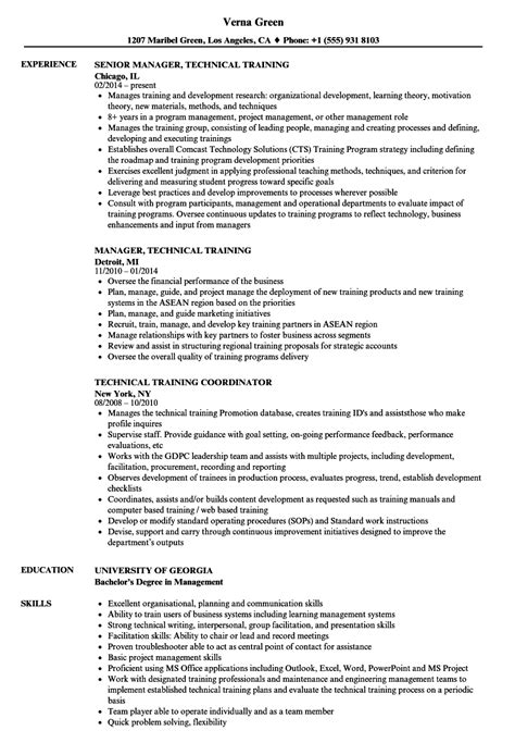 sle resume for technical instructor technical trainer resume annecarolynbird