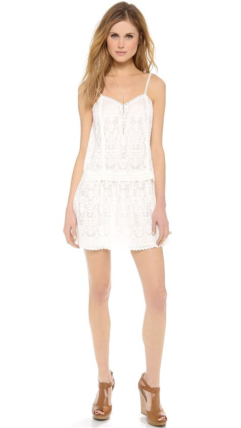 Lucia Dress lyst dolce vita lucia dress in white