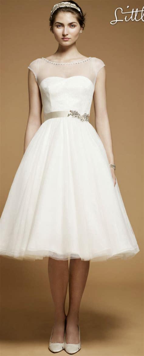 Kurze Hochzeitskleider by Wedding Inspiration Center Chic White Wedding Dress