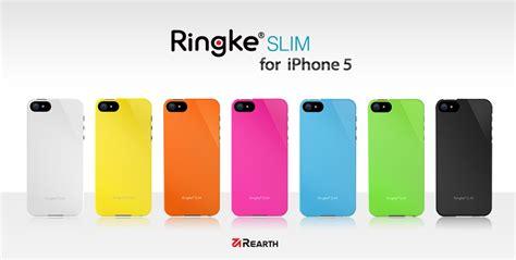 Iphone 5 5s Rearth Ringke Slim Light Feeling Sarung Casing Bumper rearth ringke slim for iphone 5 5s lf green lazada