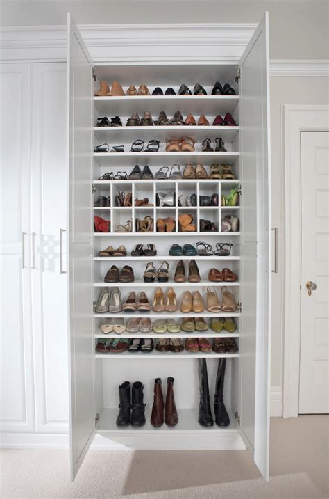 wall shoe rack designs closet traditional with shoe closet