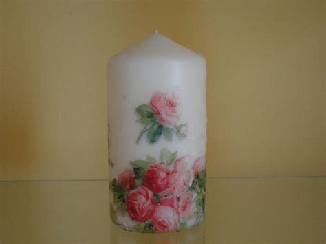 How To Decoupage A Candle - 24 best images about decoupage on candles on