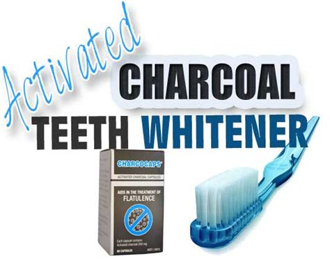 activated charcoal teeth whitener journey    life