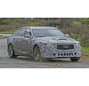 2020 Cadillac CT5 Spied For The First Time Pictures