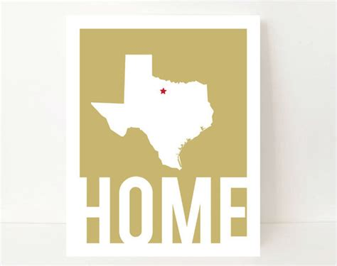 state of texas home decor items similar to home decor wall art texas art print