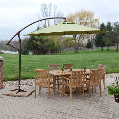 coral coast  ft offset patio umbrella patio umbrellas