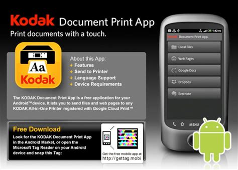 kodak printer app for android kodak app the recycler