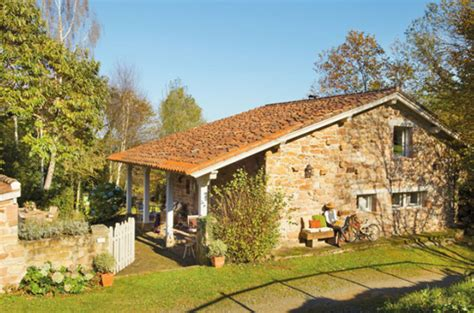 small house in spanish rustic small house with beautiful garden in spanish home