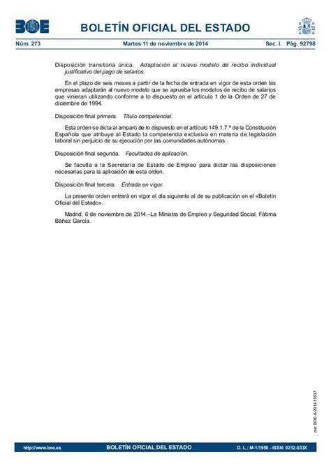 nuevo modelo de recibo individual justificativo del pago de salarios nuevo modelo de recibo de salarios y n 211 mina de trabajadores