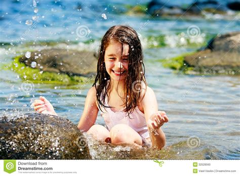 Hot Summer Stock Photo Image Of Play Happy Nature