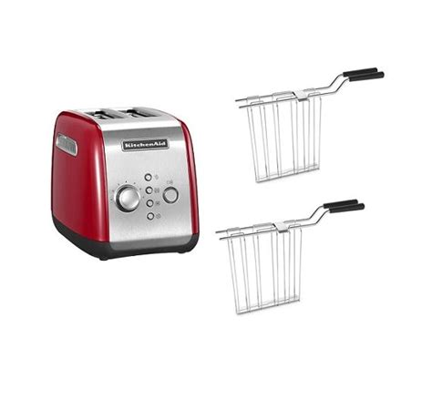 kitchenaid tostapane kitchenaid tostapane a due scomparti con pinze ikm221r