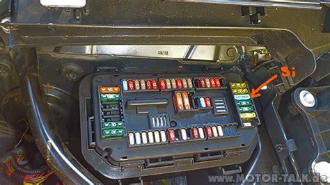 Bmw 1er F20 Sicherungsbelegung by Si Kasten Sicherungskasten F 252 R Steckdosen Am Aschebecher