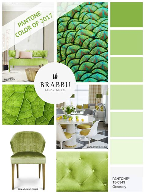 2017 interior color inspiration how to decorate with greenery pantone color of the year