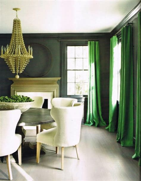 green dining rooms green curtains transitional dining room kay douglass