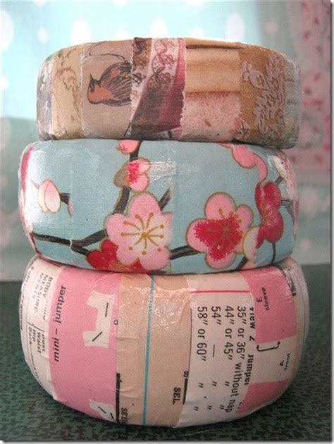 How To Decoupage Photos - how to decoupage wooden bangle bracelets