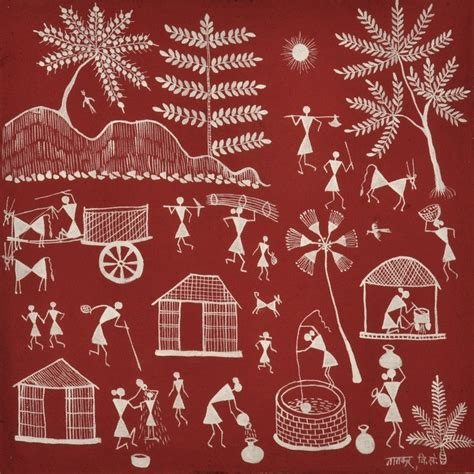 Home Decor From Around The World by Buy Online Warli Paintings Ehandcraft Co In Ehandcraft