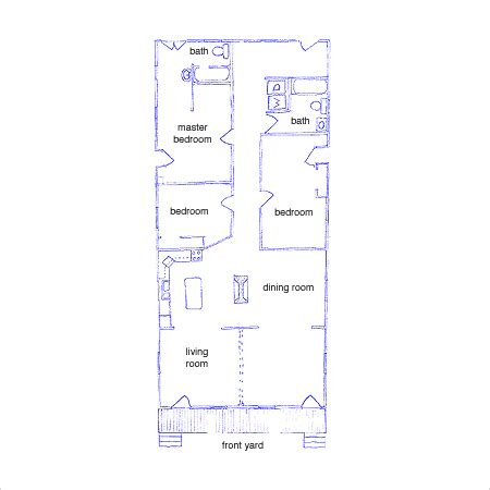 new orleans floor plans new orleans shotgun renovation tiny home space