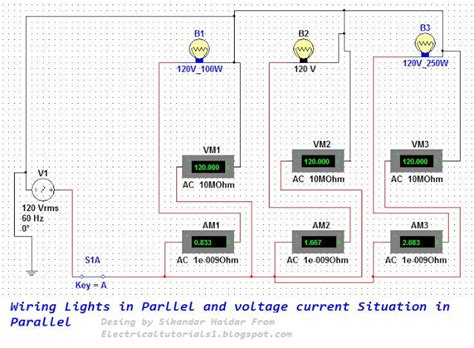 wiring lights in parallel complete guide electrical
