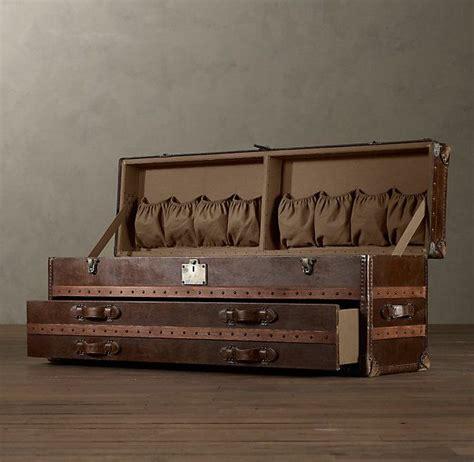 steamer trunk dresser restoration hardware pin by ann vivian on the decor