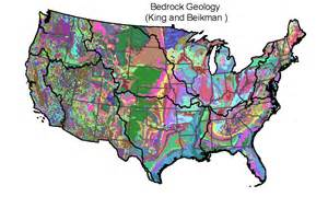 geologic map of united states attributes for nhdplus catchments version 1 1 in the