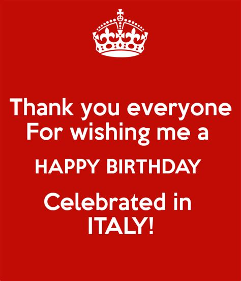 Thank You For Wishing Me A Happy Birthday Thank You Everyone For Wishing Me A Happy Birthday