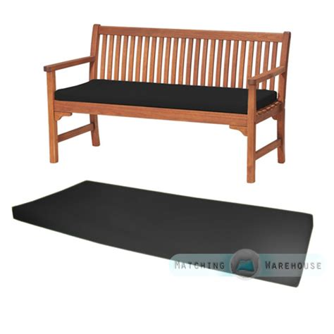 3 seater bench cushion outdoor waterproof 3 seater bench swing seat cushion only garden furniture pad