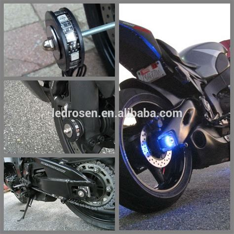 Led Motor Wheel Strip Light Kit Motorcycle Led Pod Lights How To Install Led Lights On A Motorcycle