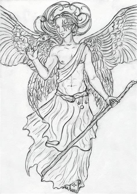 archangel raphael by sjostrand on deviantart