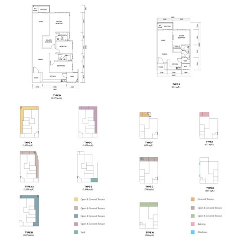 design floorplan hijauan saujana floor plan