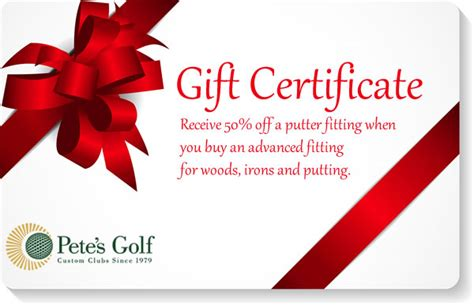 Buy Gift Cards 50 Off - pete s golf home pete s golf