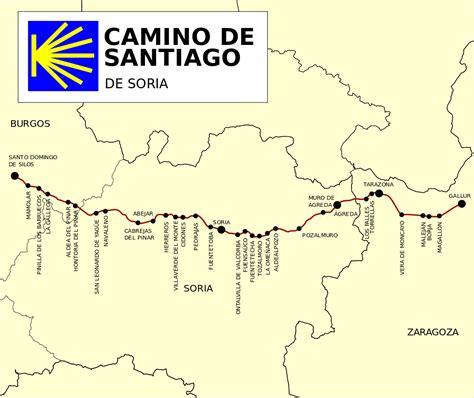 the camino de santiago camino de santiago de soria la enciclopedia libre