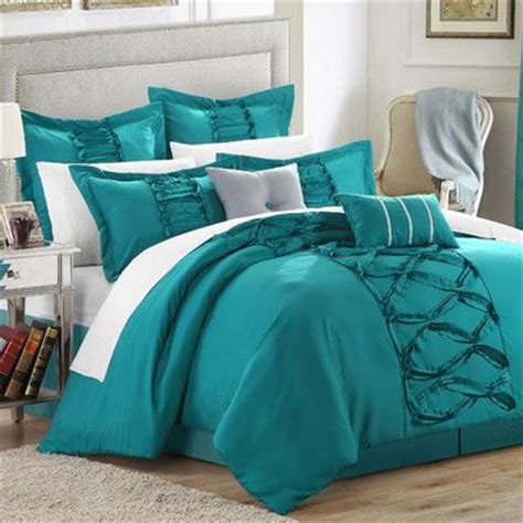Turquoise Size Comforter by 17 Best Ideas About Turquoise Bedding On Teal