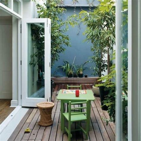 patios y balcones peque 241 os muy acogedores