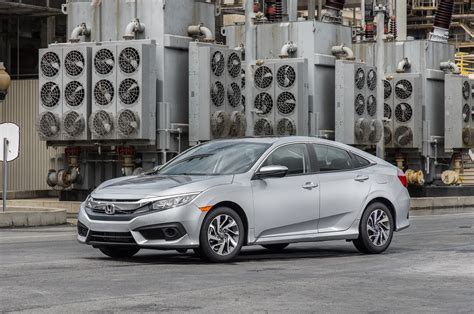 2016 honda civic ex sedan test review