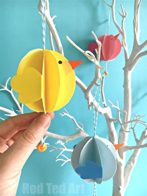 How To Make Easter Decorations Out Of Paper - 17 best ideas about easter on easy