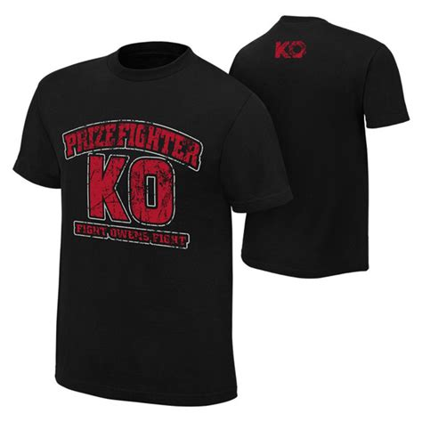 Ko T Shirt kevin owens prize fighter quot ko mania quot authentic t
