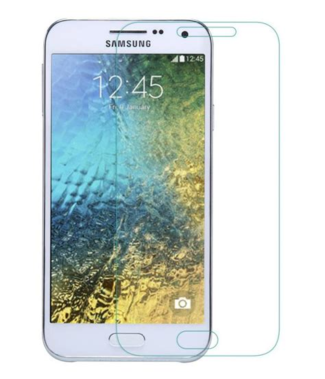 Tempered Glass Samsung Galaxy E5 hny tempered glass screen protector for samsung galaxy e5 mobile screen guards at low