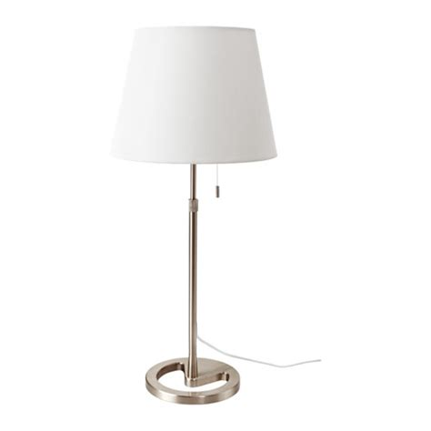 Kitchen Blinds And Shades Ideas by Nyfors Table Lamp Nickel Plated White Ikea