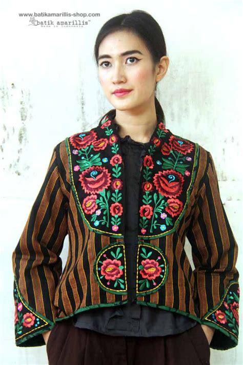 Premium Lurik Blouse 17 best images about batik on jakarta mexican